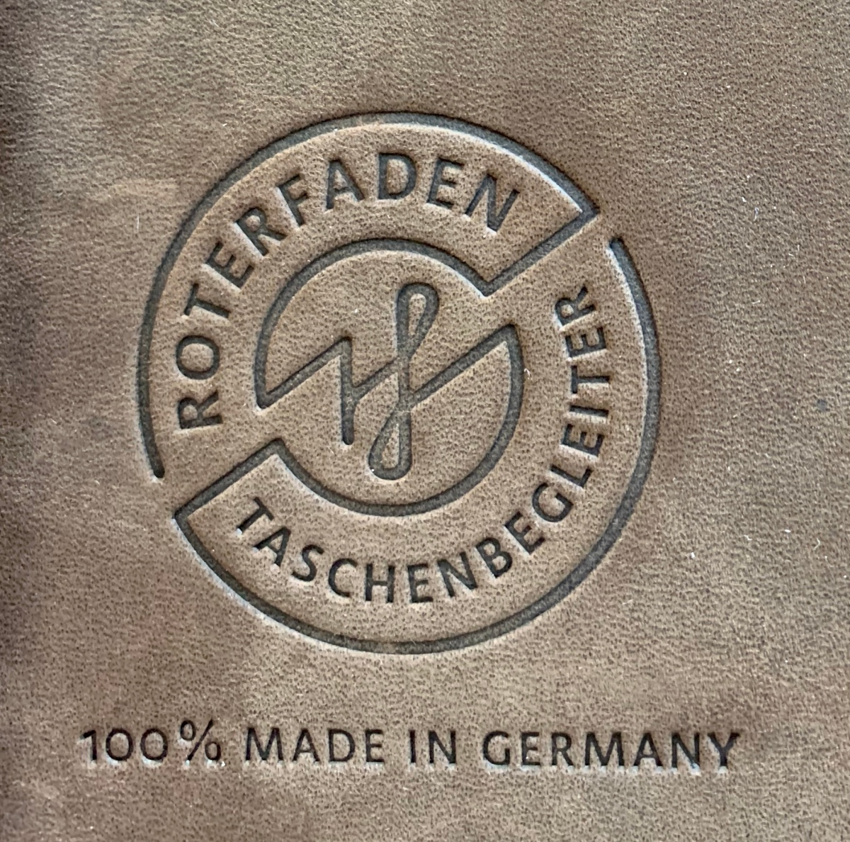 Roterfaden Taschenbegleiter: the deluxe, super-flexible note book with the complicated name